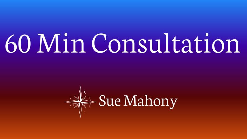 60 Minute Consultation - Sue Mahony, Ph.D