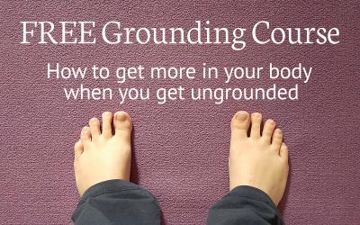 Free Grounding Course - Sue Mahony, Ph.D